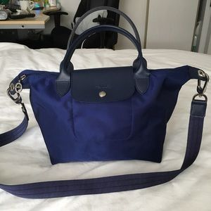 Authentic Le Pliage Neo top handle bag small